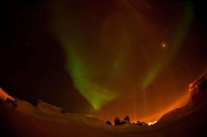 Aurora - Solstice Lunar Eclipse 2010