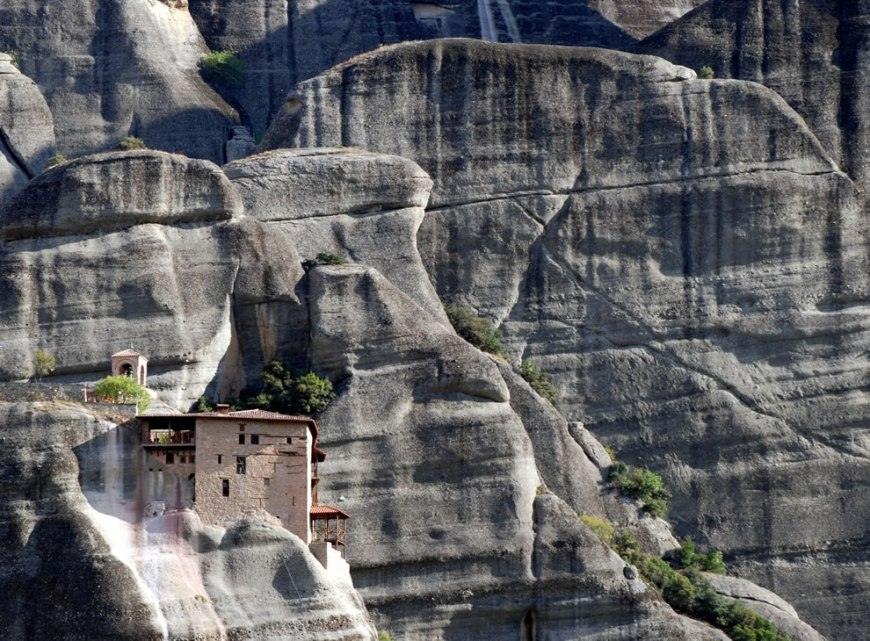 The Holy Monastery of St Nicholas Anapausasby in Meteora