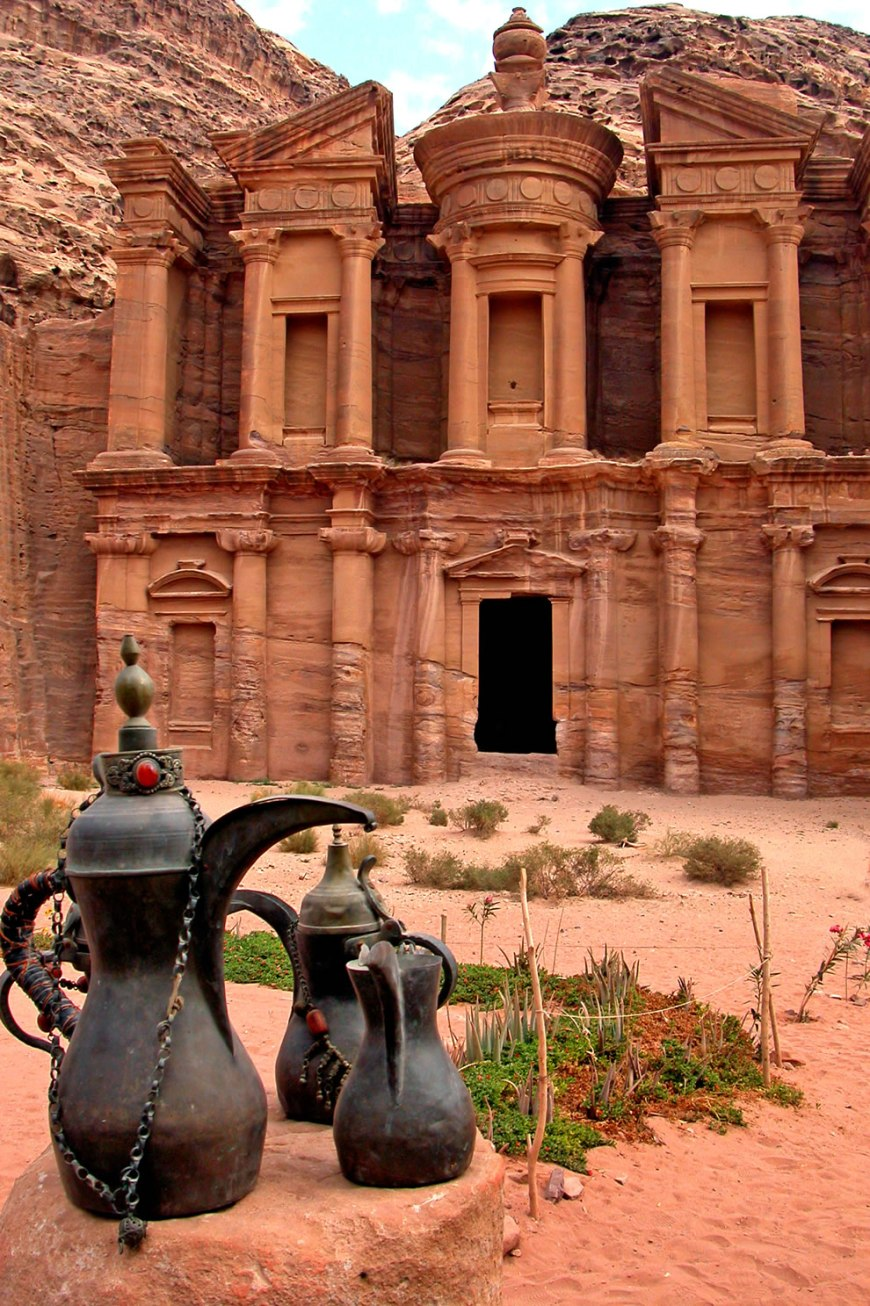 The Monastery (Al Dier) at Petra, Jordan