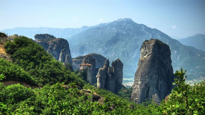 Meteora - The nunnery of Roussanou