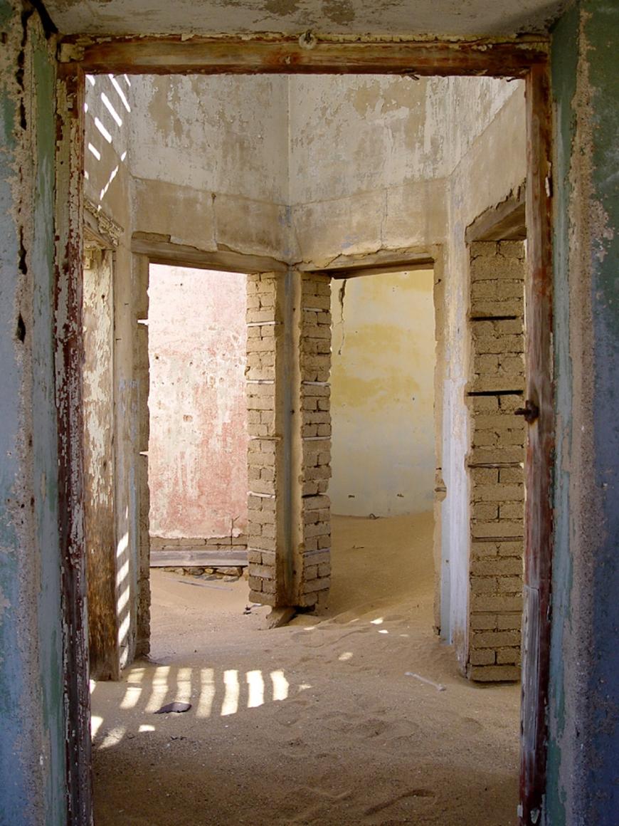 Africa - Kolmanskop ghost town