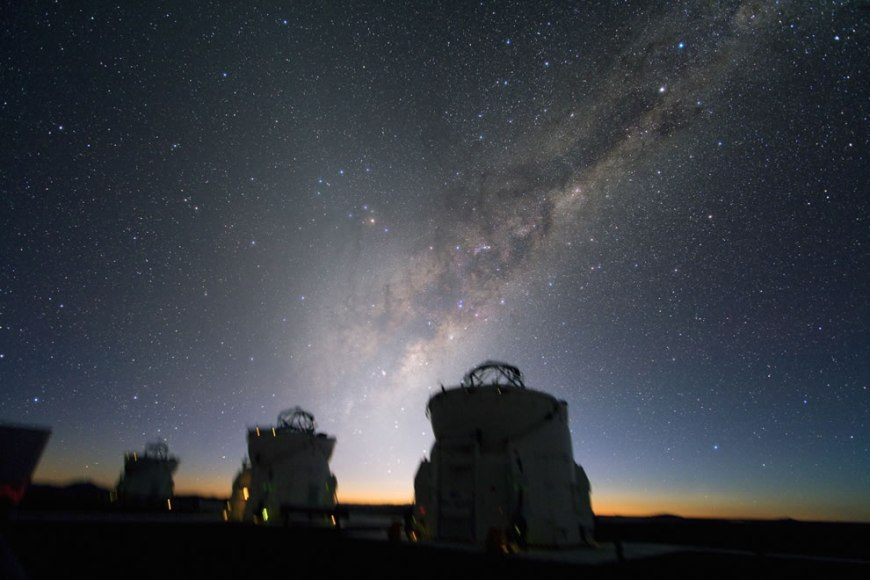 Beautiful Sky over Paranal
