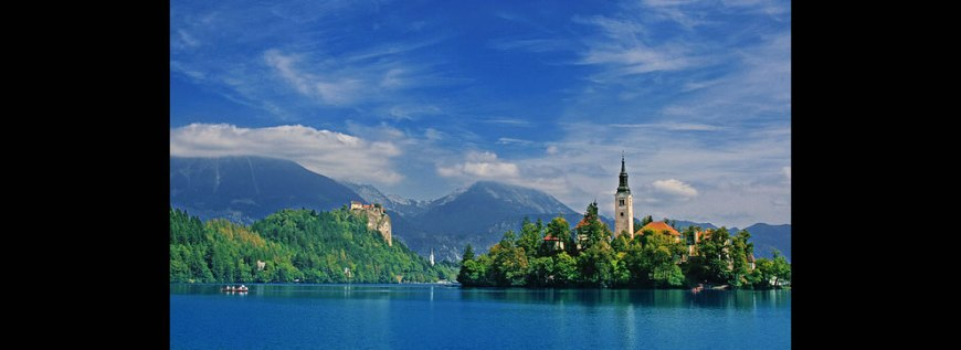Bled - island and castle