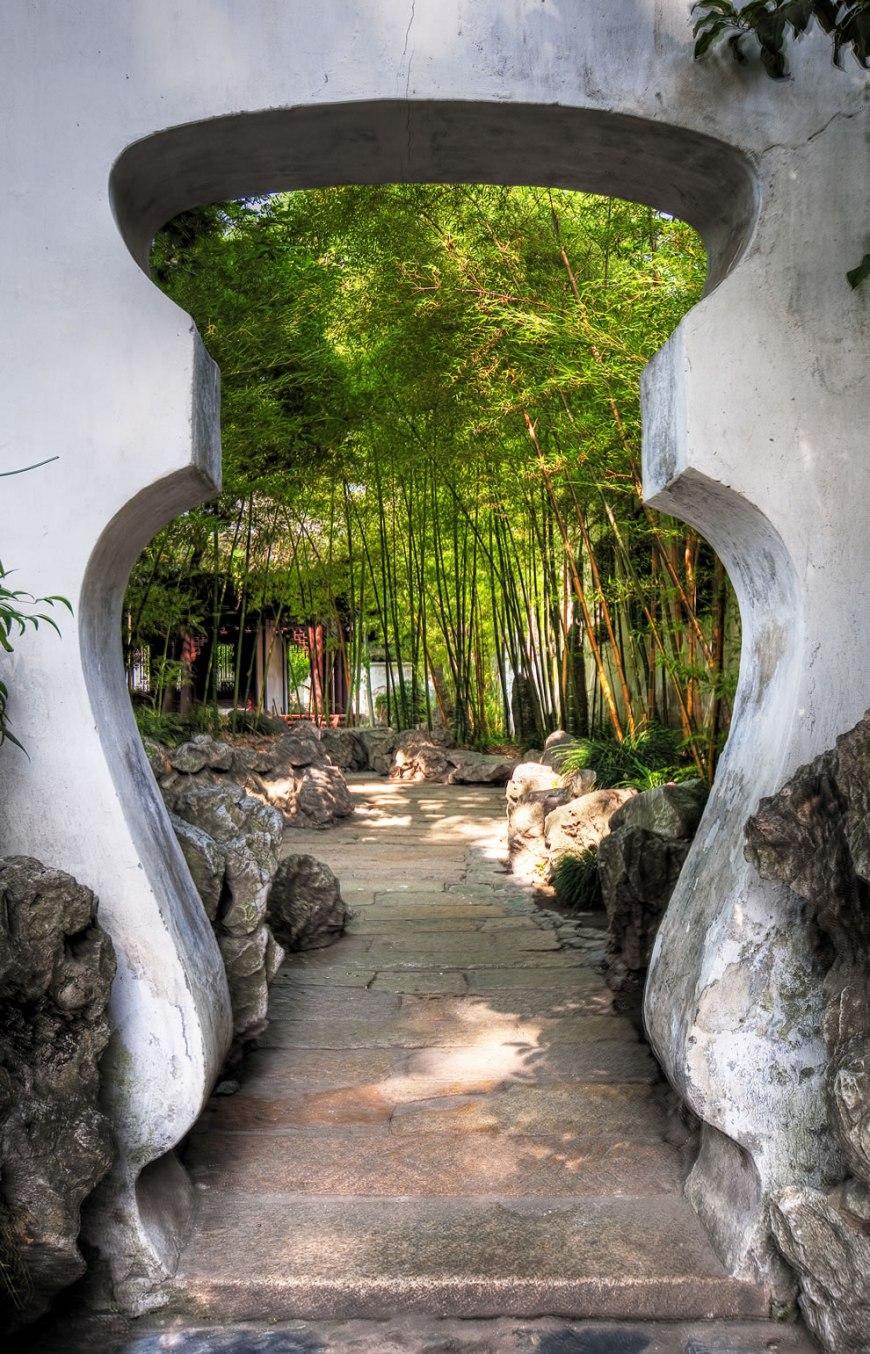 Chinese Gardens - China - YuYuan Garden