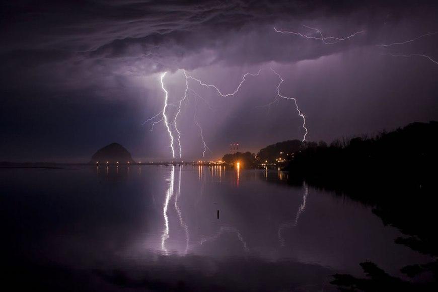 Lightning, Morro Bay