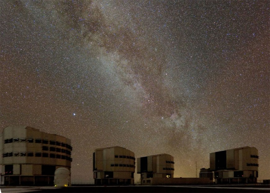 Milky Way above Paranal