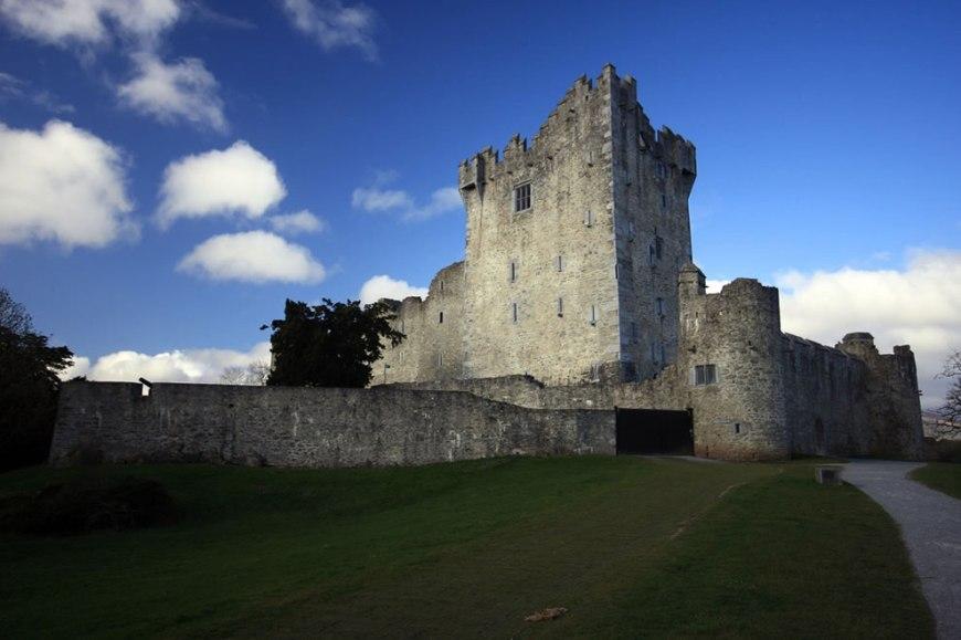 Ireland - Ross Castle now