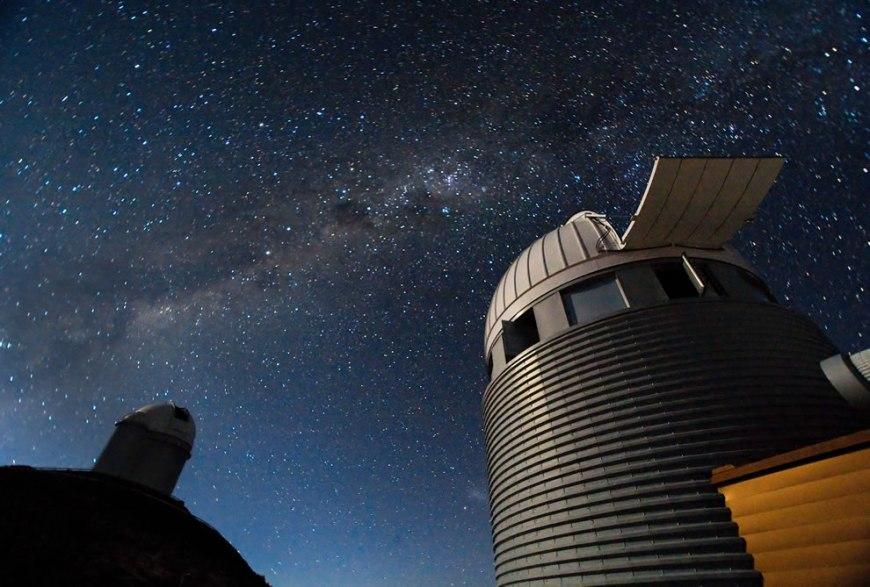 ESO - Swiss and 3.6-m Telescope at La Silla