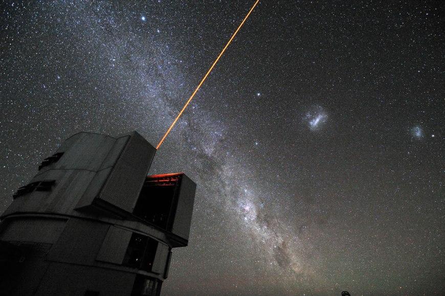ESO - The VLT´s Laser Guide Star