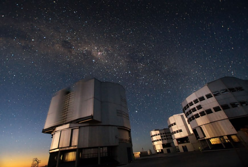 VLT Telescopes at Paranal