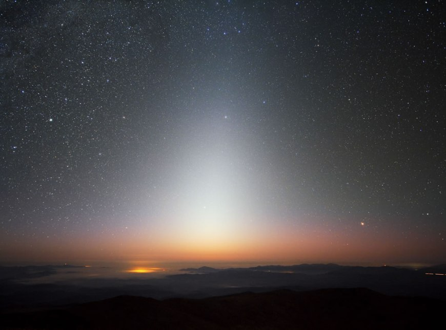 Zodiacal Light over La Silla