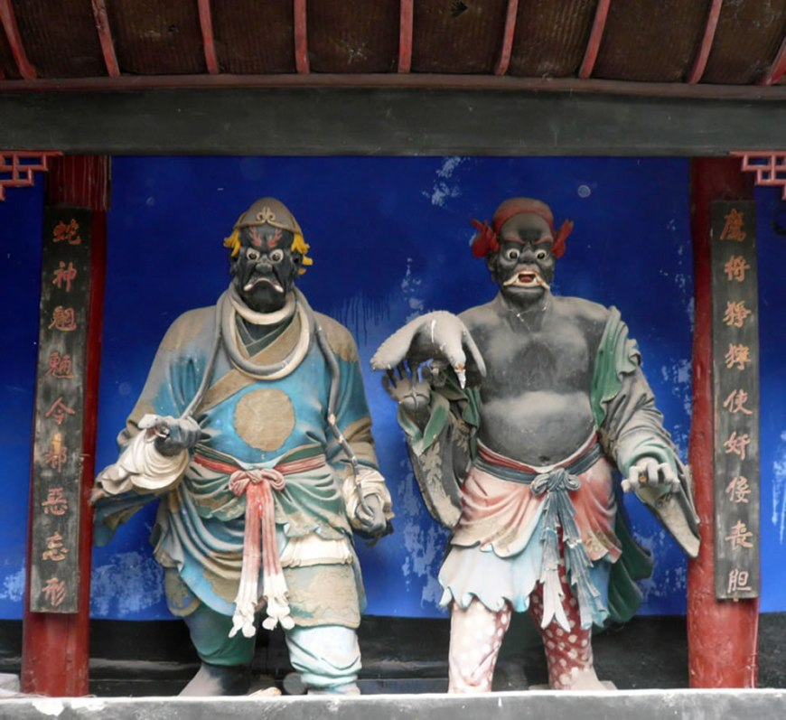 At Fengdu - Chinese Realm of the Dead