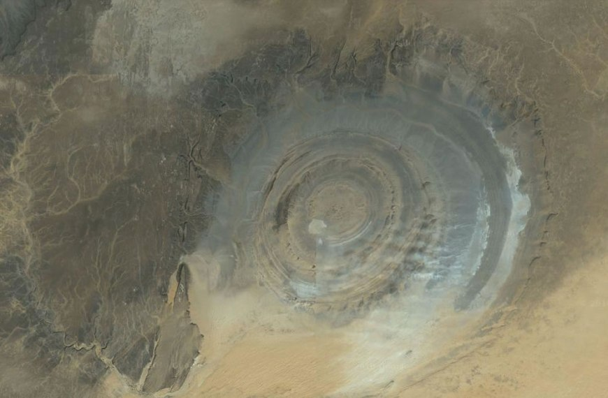 Richat Structure, Oudane, Mauritania