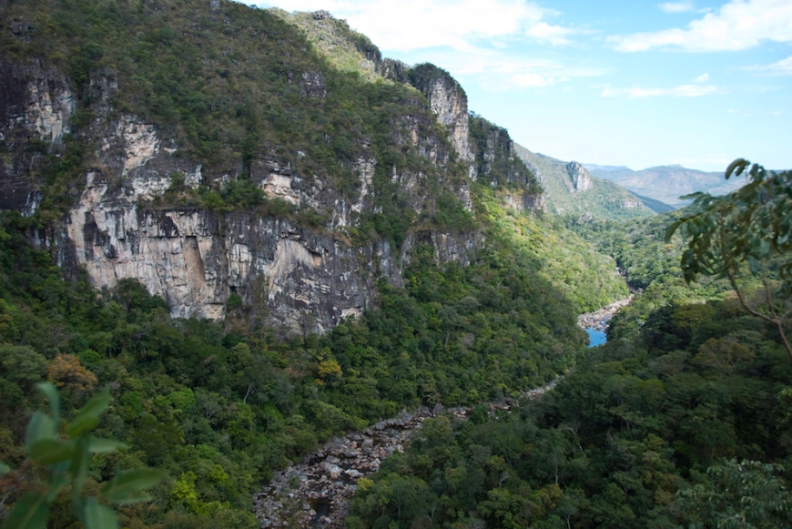 Chapada dos Veadeiros national park in Goias, Brazil