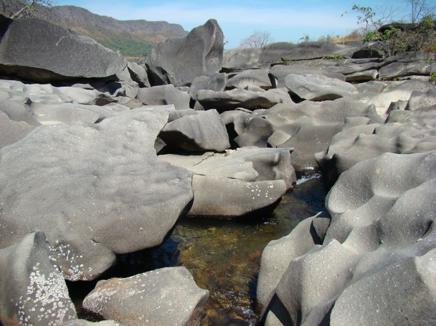 Chapada dos Veadeiros - rocks of moon valley