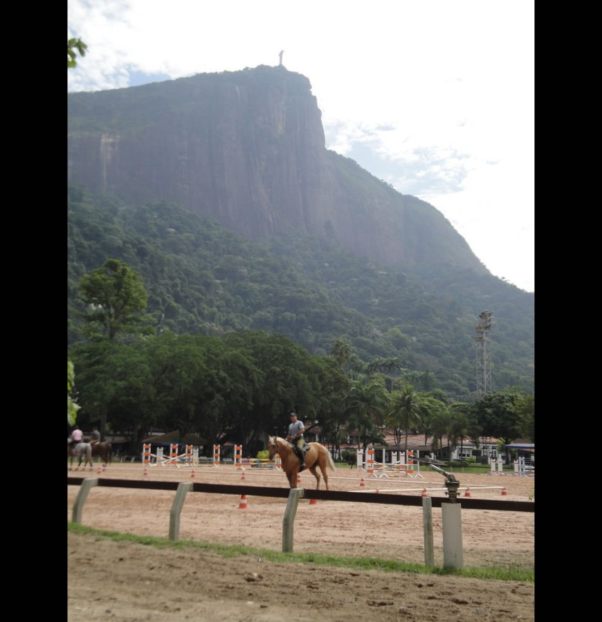 Christ the Redeemer in the background