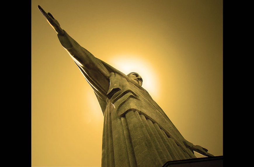 Cristo Redentor - Christ monument- One of the new 7 wonders of the world. Congratulations   Brazil!