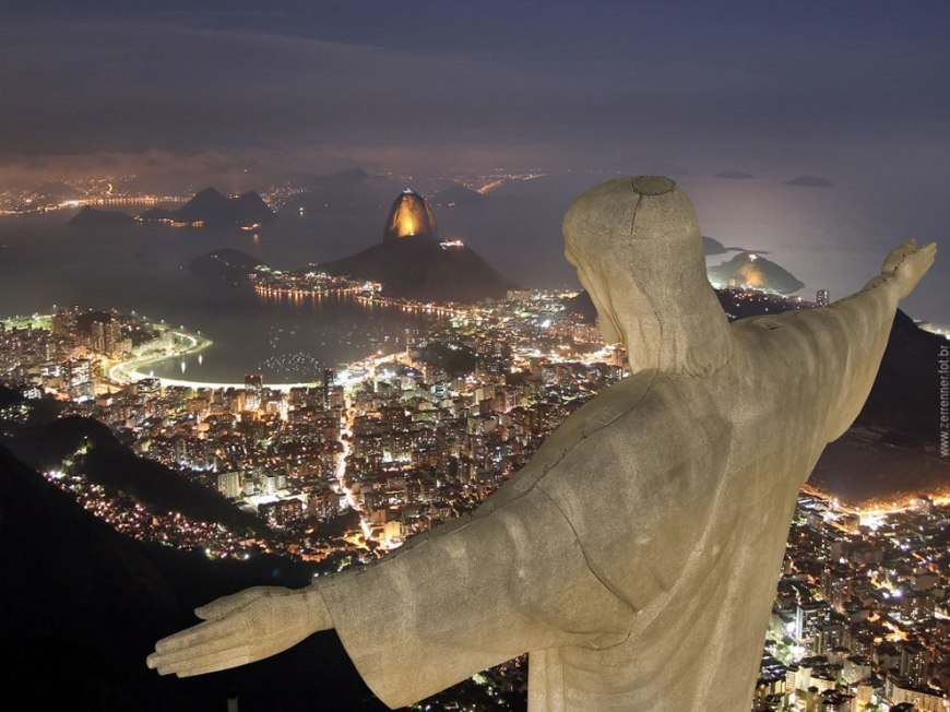 Cristo Redentor watching over Rio