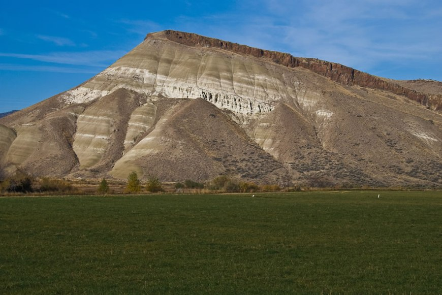 Entrance Into Painted Hills - John Day Fossil Beds National Monument