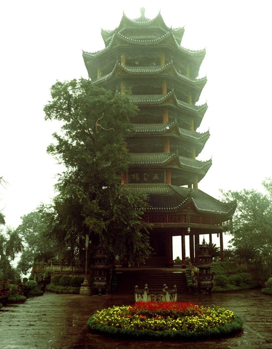 Fengdu Ghost City Pagoda