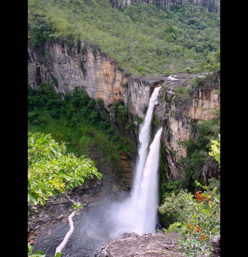 Gift of wonder. Walking - or rather, trekking - in the beautiful Brazilian National Park of Chapada dos Veadeiros, Goiás, Brazil