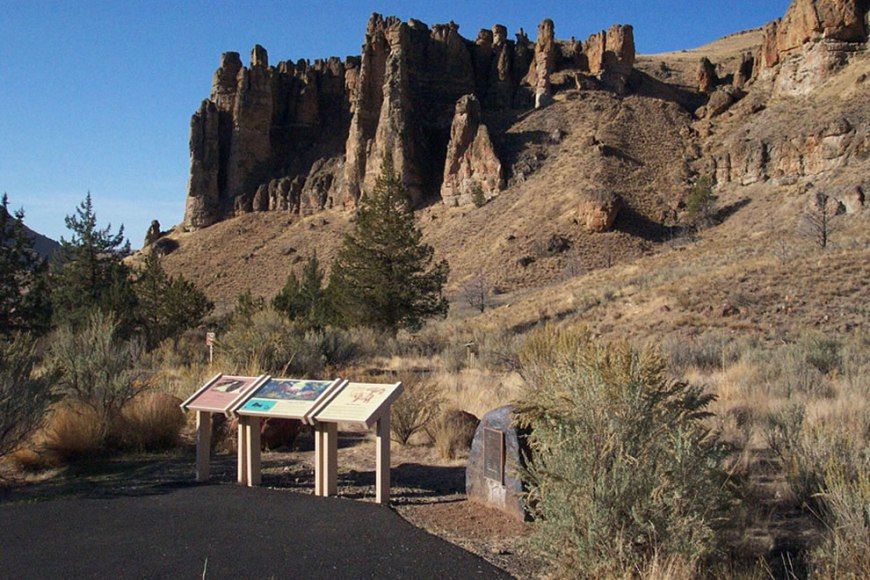 Hoodoos at John Day Fossil Beds National Monument