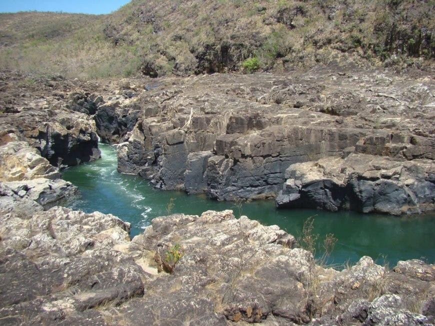 Inviting water of Moon Valley at Chapada dos Veadeiros