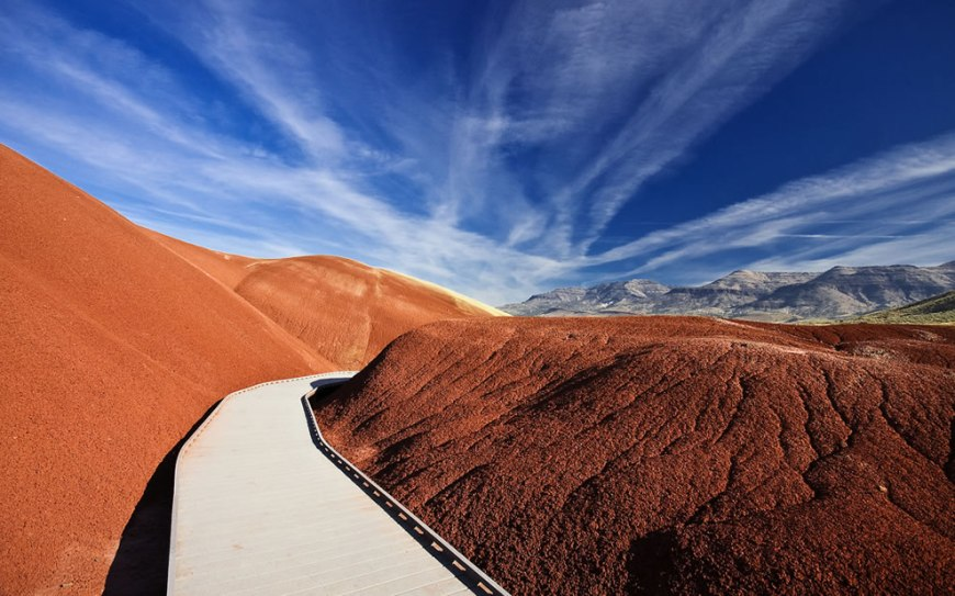 John Day Fossil Beds National Monument Scenic Area