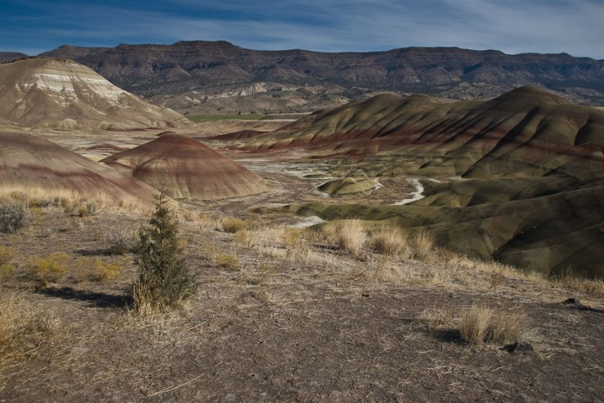 Overlook Trail at Painted Hills Unit of the John Day Fossil Beds National Monument