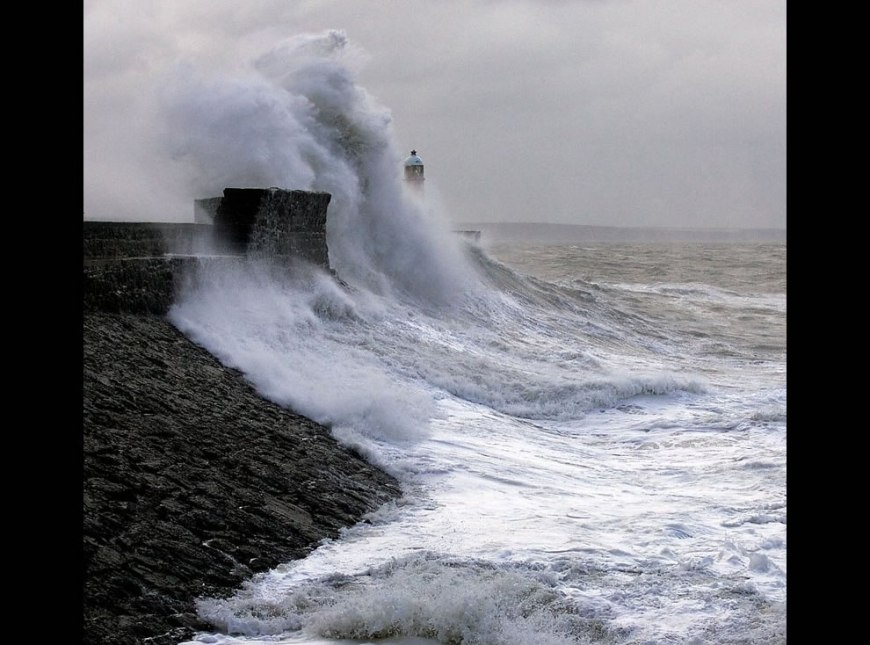 Porthcawl Harbour Storm