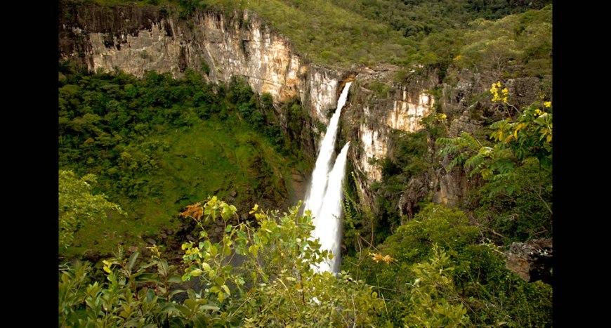 Salto Falls - Chapada dos Veadeiros