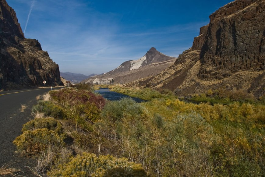 Sheep Rock Unit of the John Day Fossil Beds National Monument