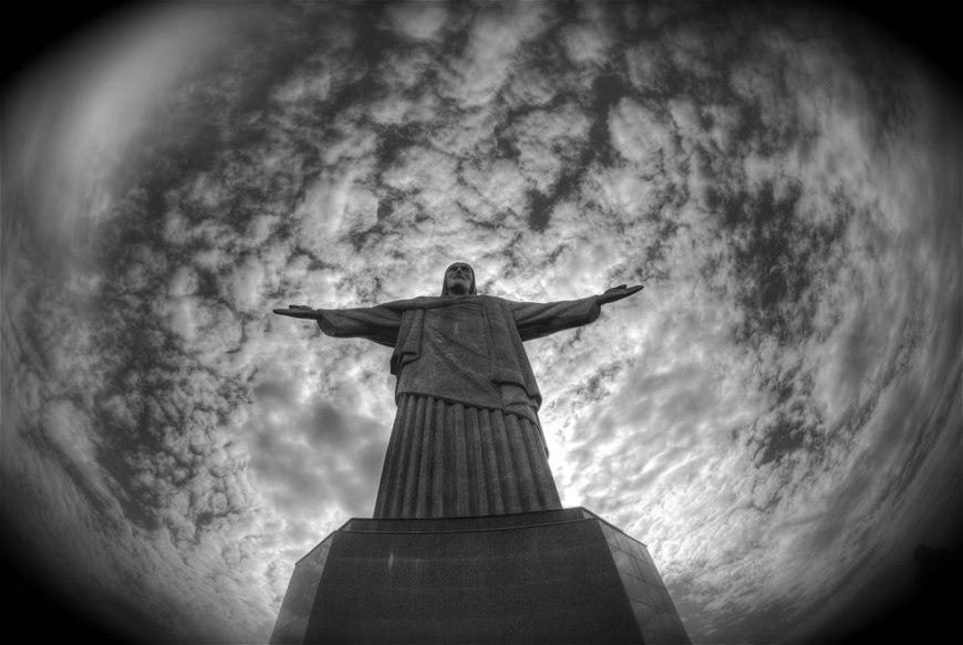 The statue of Christ the Redeemer on Morro de Corcovado in Rio de Janeiro