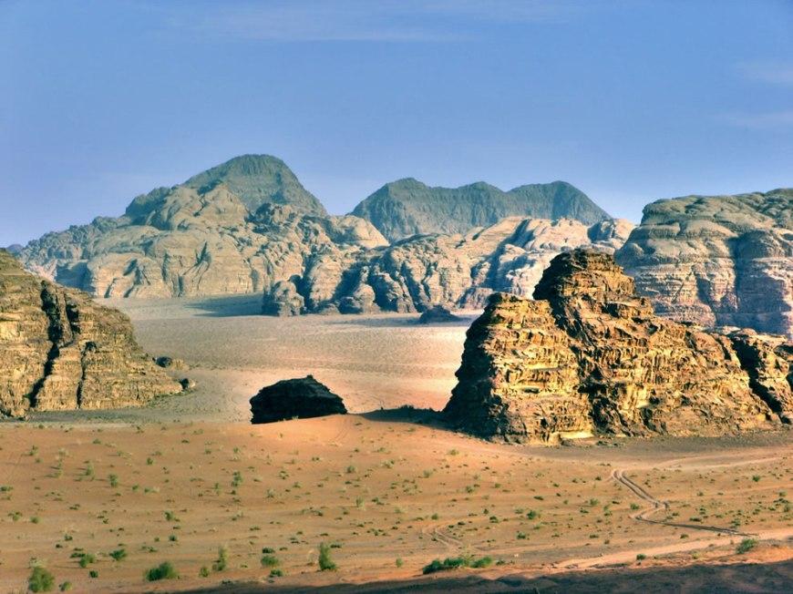 Wadi Rum Valle de la Luna - the valley of the moon