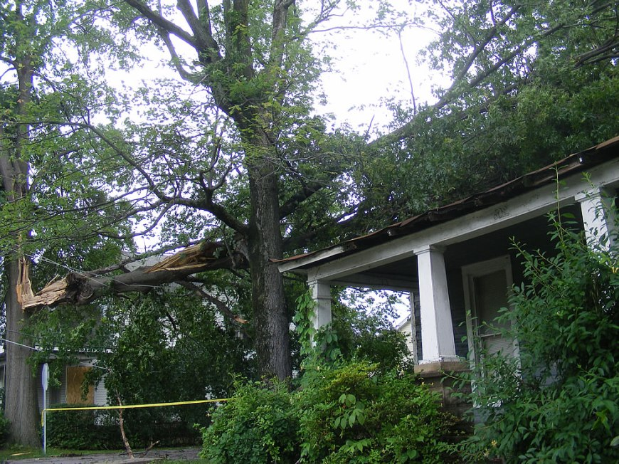 Bummer - storm damage in southern Indiana