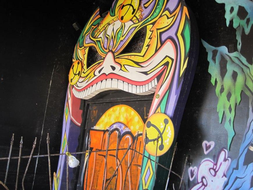 Creepy at abandoned Six Flags