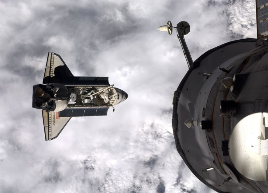 Endeavour Approaches ISS - DAY 3