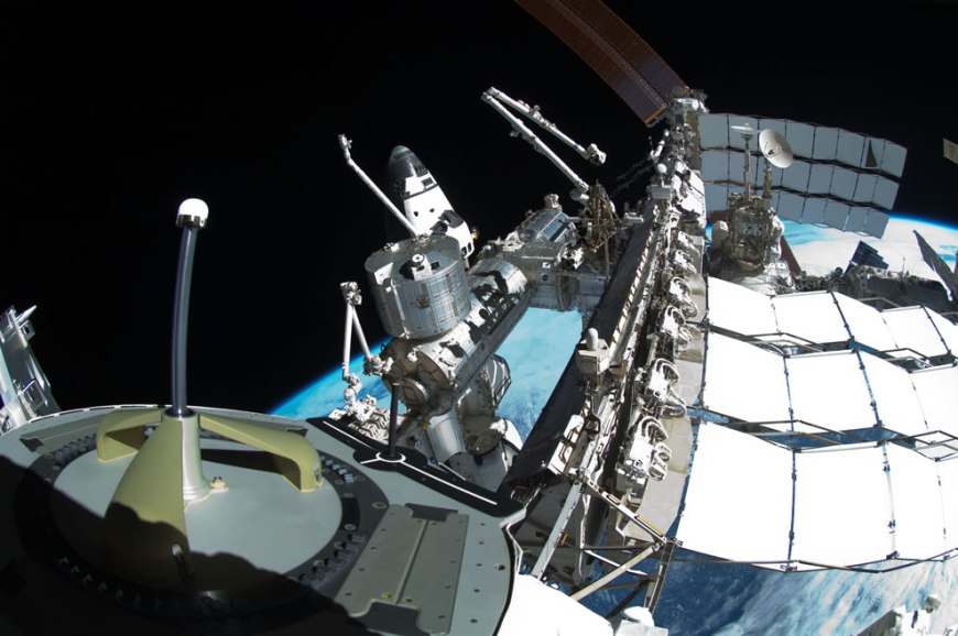 May 27 ISS and the docked space shuttle Endeavour
