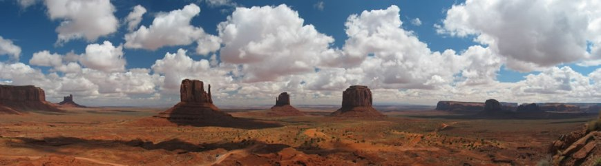 Monument Valley, panoramic pic