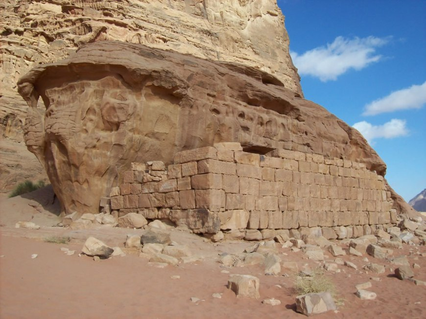 Wadi Rum - Lawrence of Arabia's House