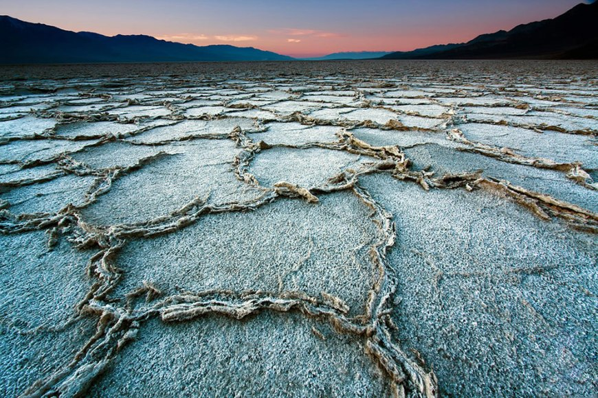 Badwater Basin Sunset, Death Valley National Park, California