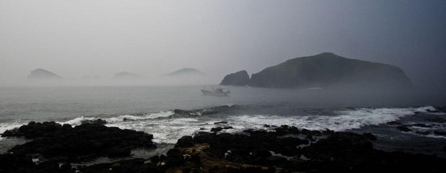 Chagwido Islands off Jeju, S. Korea