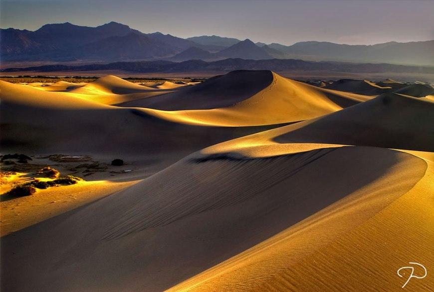 Death Valley - Mesquite Dunes