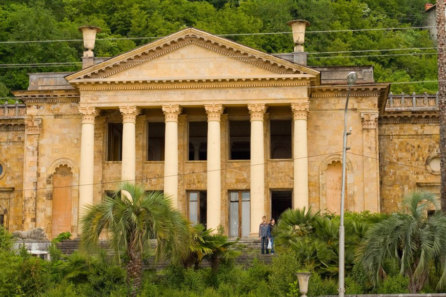 Gagra winter theater