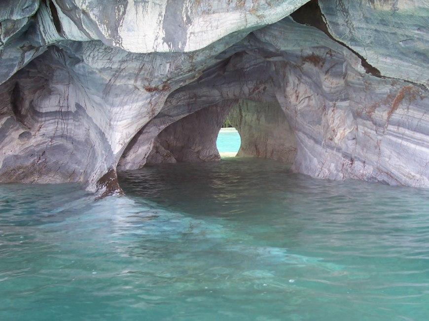 general carrera lake, inside marmol caverns, Aysen region-Chile