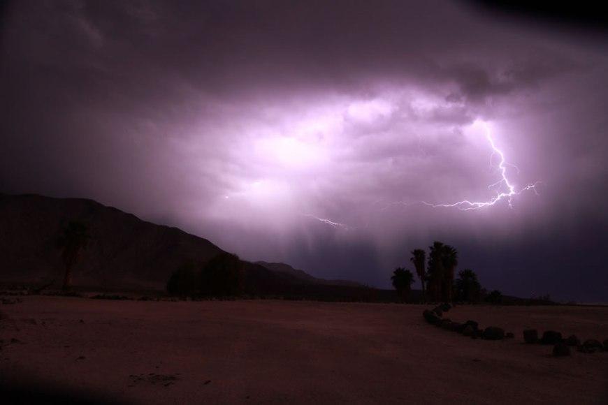 Lightning Storm at Saline Valley - Death Valley National Park
