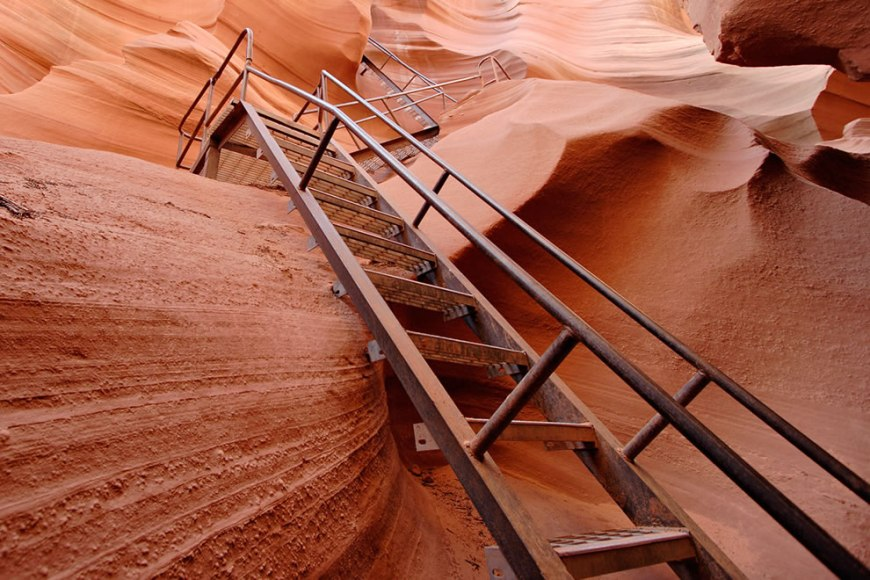 Lower Antelope Stairs