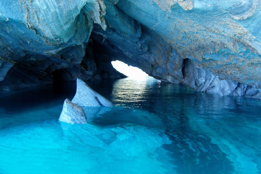 Marble Cathedral's  La Cueva - the Cave