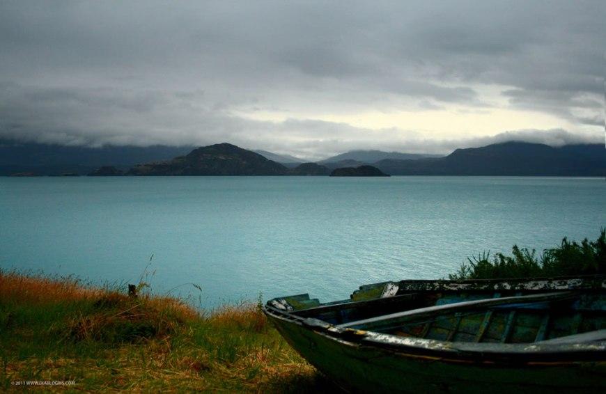Quiet on Lago General Carrera Chile