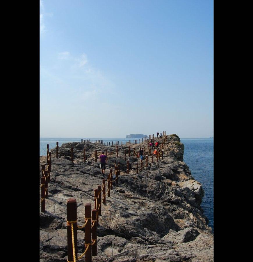 Saeseom bridge on Jeju Island